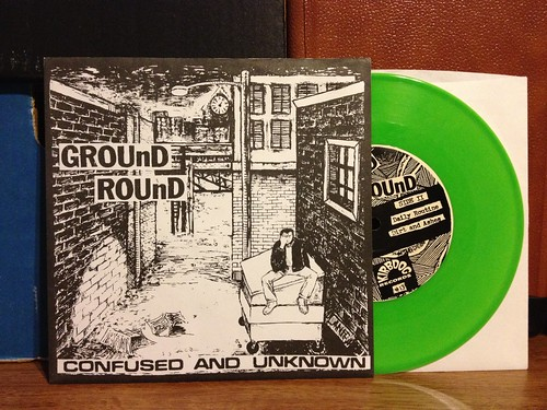 "Ground Round - Confused & Unknown 7"" - Green Vinyl by Tim PopKid"