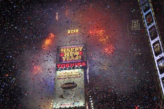 Times Square New York New Year's Eve