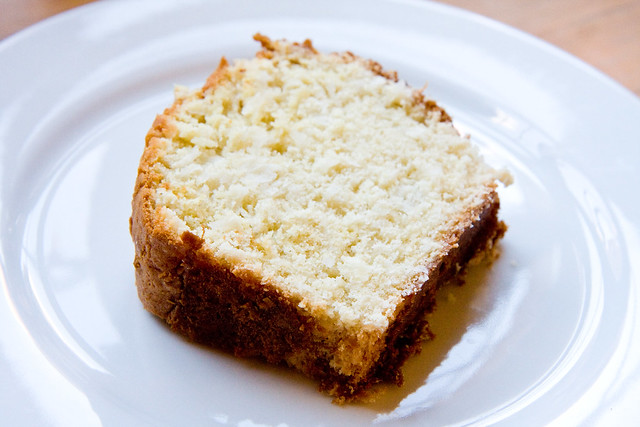 Emily Dickinson's coconut cake