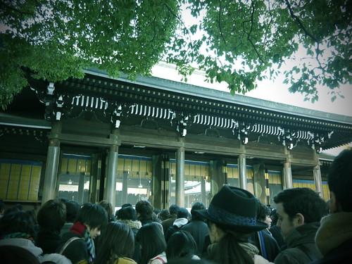 初詣2012 in 明治神宮