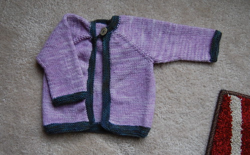 A sweater for baby Sullivan