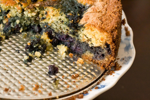 Blueberry Cornmeal Cake 3