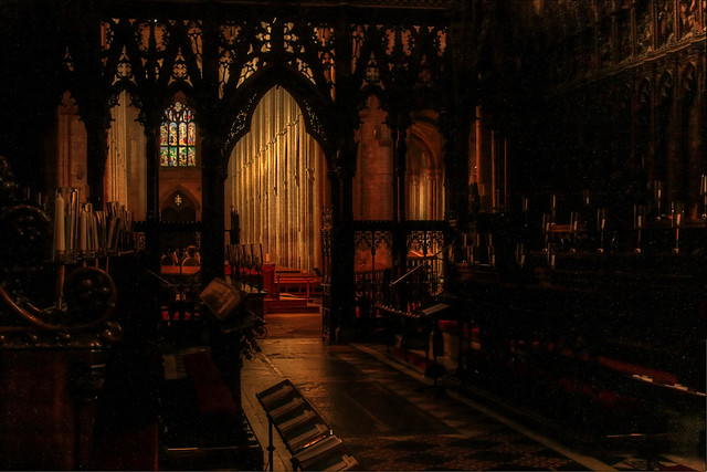 Beams and Beams (Ely Cathedral 2012)