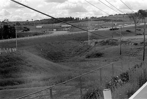 newyork amsterdam landscape blackwhite trix negative 1967 exit27 newyorkthruway ny30 southamsterdam