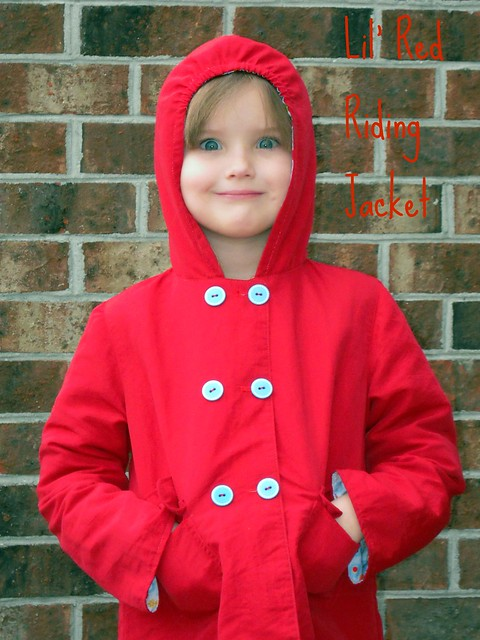 Lil' Red Riding Jacket