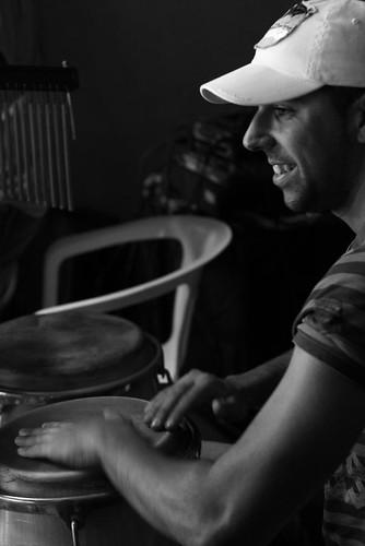 Cristian Fajardo Pérez - percusionista