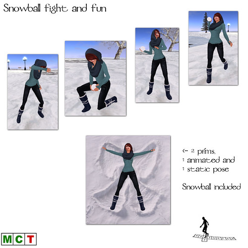 Snowfight and fun