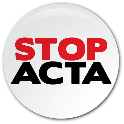 Stop Acta Button von ntr23