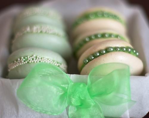 Zielone makaroniki by CupcakeLovePL