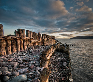 First Light At Porlock Weir