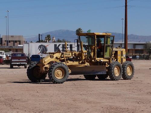 20120130 New Armory Building in Rio Nuevo, Tucson, Arizona - Grader by lasertrimman