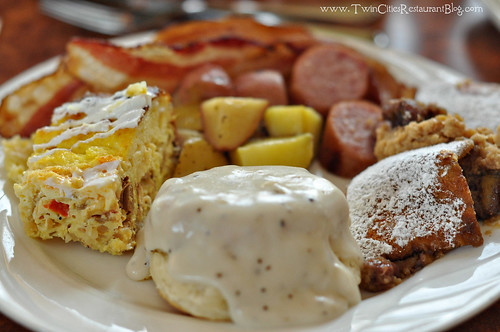Brunch Plate at Girvan Grille ~ Brooklyn Park, MN
