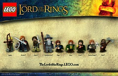LOTR posters from LEGO