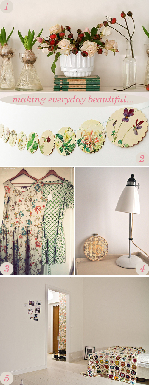 making everyday beautiful : granny chic charm | Emma Lamb