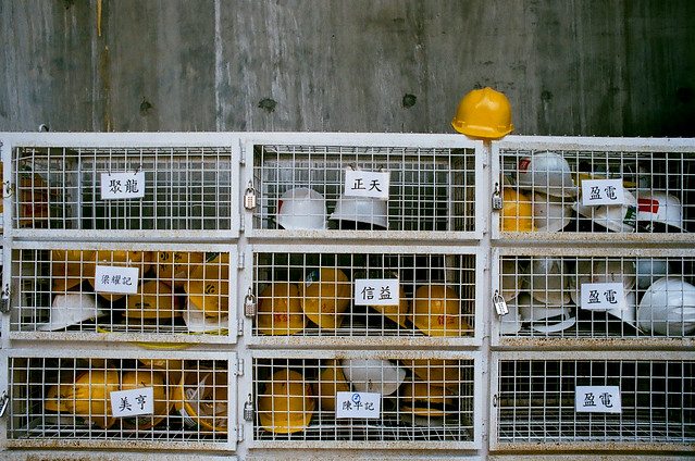 Hard Hats in Tai Hang