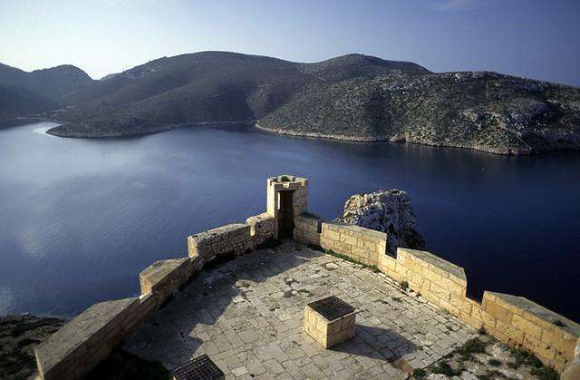 Vista de Cabrera desde el Castillo