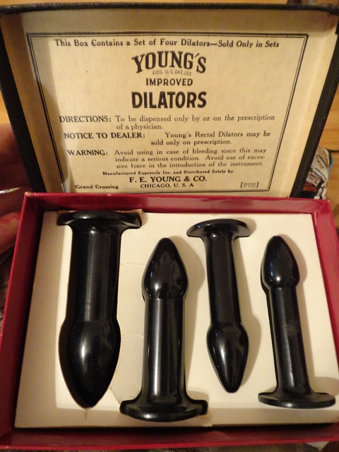 Antique Rectal Dilators