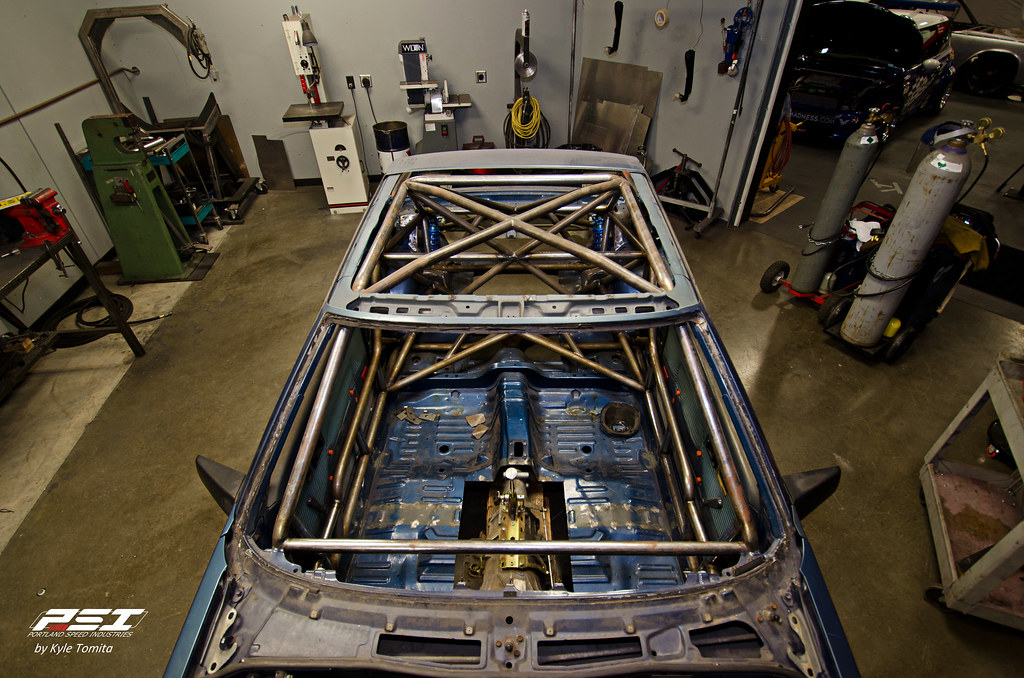 PSI Celica Project Cage - top