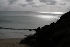 Porthcurno Beach, Cornwall 10-10-2007
