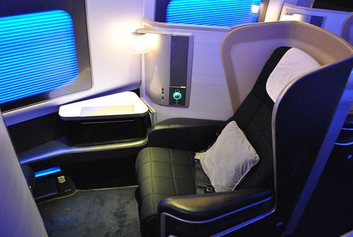British Airways. New First Class.