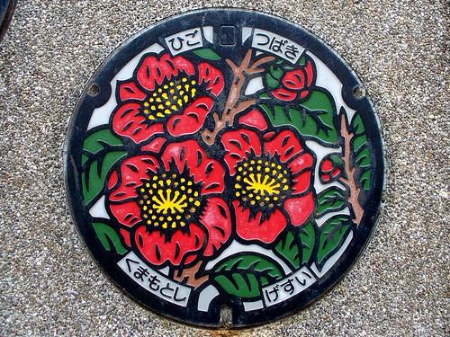 Kumamoto Kumamoto pref,manhole cover (熊本県熊本市のマンホール)
