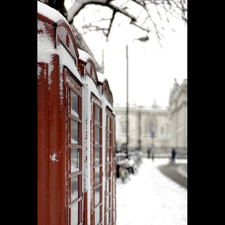 Phone the Queen, it's snowed!
