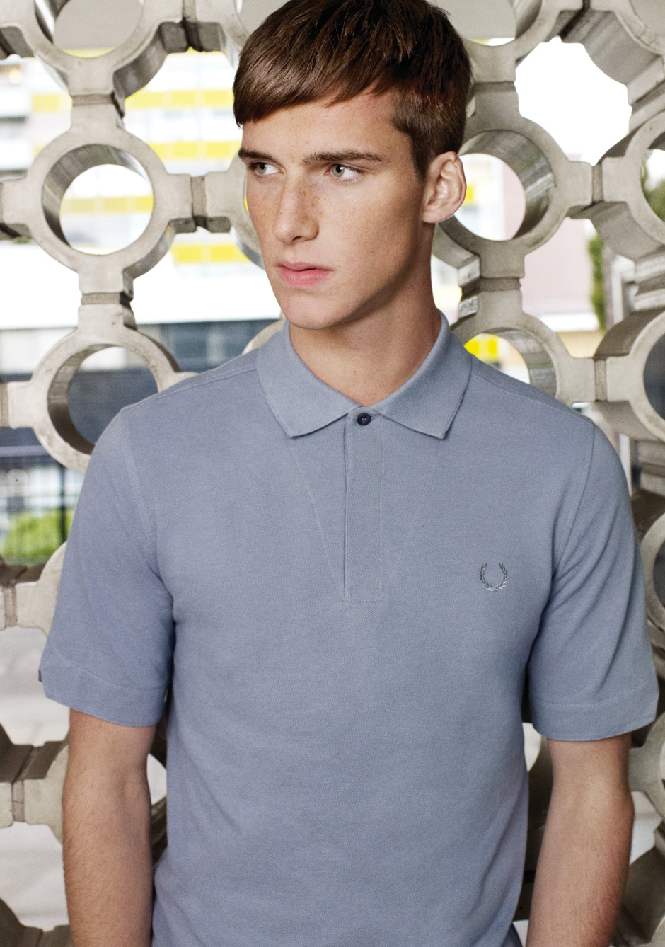 Johnny George0026_FRED PERRY SS12