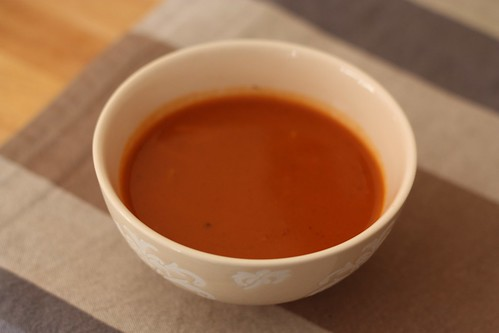 soupe a la tomate maison