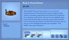 Buck & Chuck Bronco