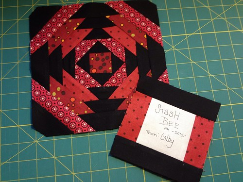 Stash Bee Feb. 2012 Blocks