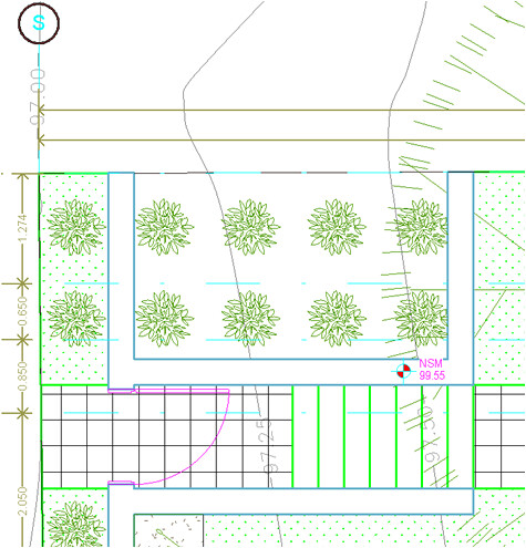 Las lineas de suelos quedan sobre las líneas de los muros 6837156641_b1d28beb83