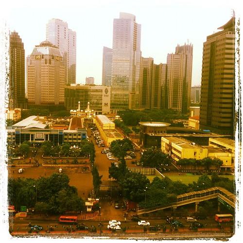 Jakarta's view by Davide Restivo