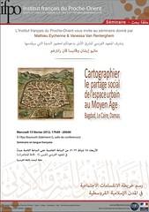 Séminaire Cartographier le partage social de l'espace urbain au Moyen Âge : Bagdad, Le Caire, Damas