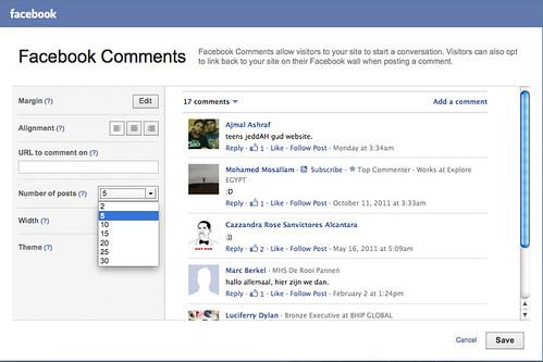 Widget Wednesday: Facebook Comments | Yola