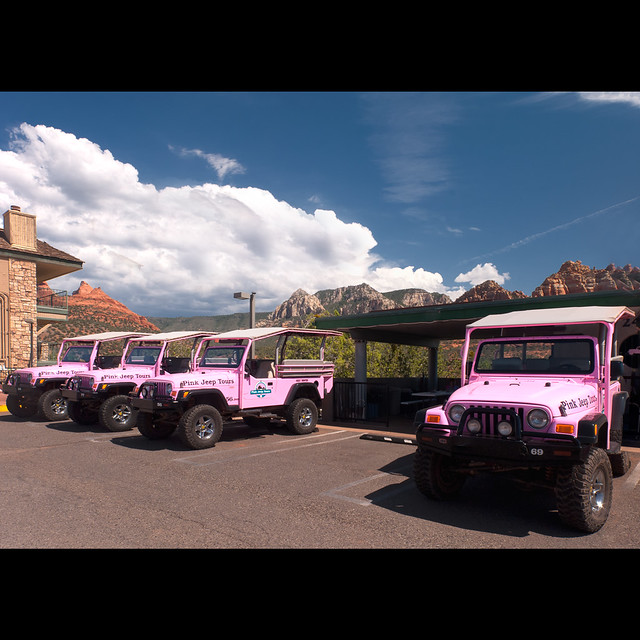 Pink Jeep Tour... Sedona...