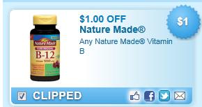 Nature Made Vitamin B Coupon