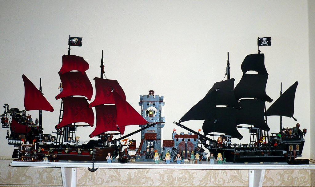 Our Lego Pirates Of The Caribbean Ships The Best Of Our Le Flickr