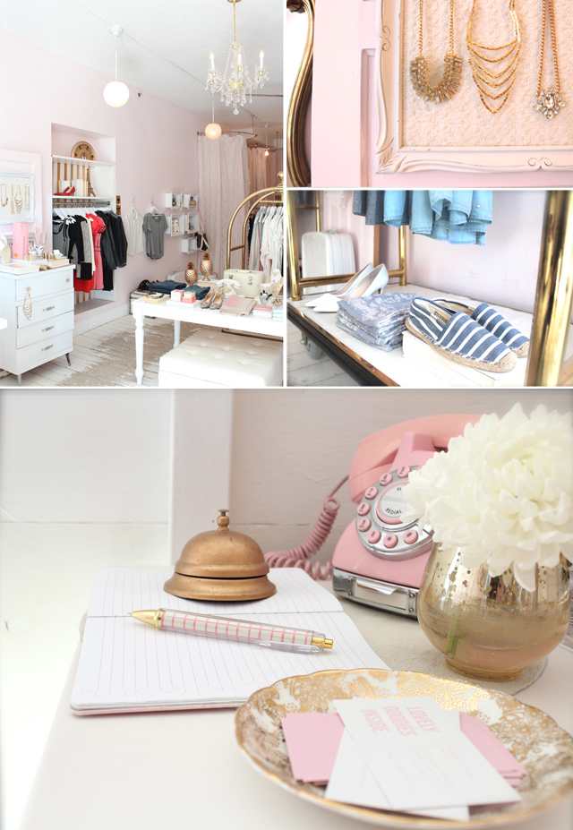 Shop Girl: Blush Shop