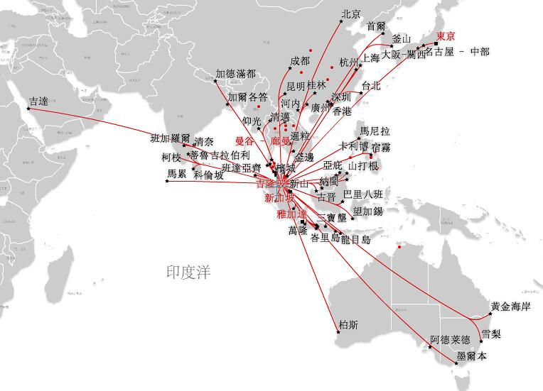 Air asia route