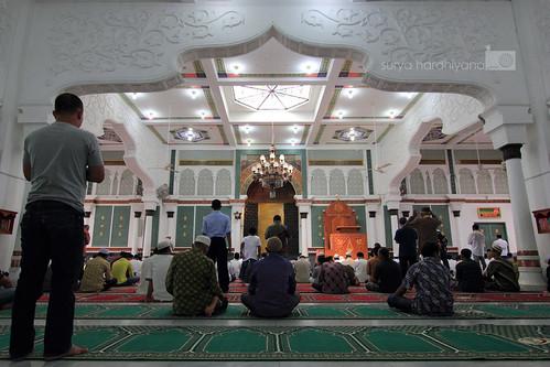 Interior Masjid Raya Baiturrahman, Banda Aceh