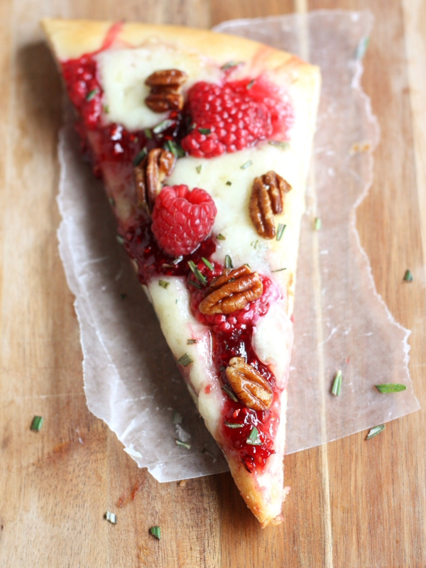 Raspberry Brie Pizza