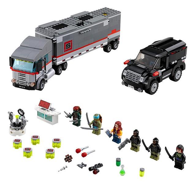 LEGO TMNT 79116 - Big Rig Snow Getaway