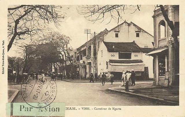 ANNAM - VINH - CARREFOUR DE NGA TU