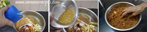 Aavakkai Urukai / Cut Mango Pickle