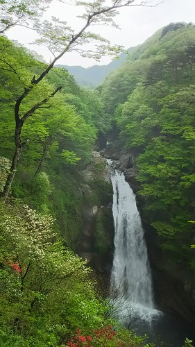 Akiho no Taki(Akiho Waterfall) in Sendai, Miyagi, Japan /May 7,2016
