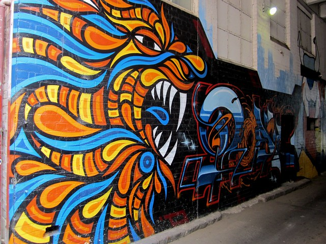 Street art, Finlay Lane, Melbourne
