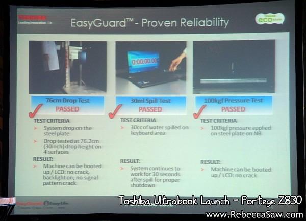 Toshiba Ultrabook - Portege Z830-3