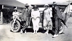 Codrington family  Effie and  George rhs