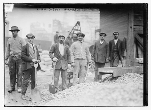 Alien Subway workers, N.Y.C.  (LOC)
