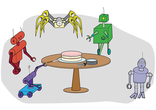 Cake and Robots: Party!